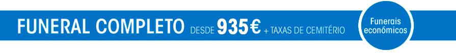 Funerais desde 935 Euros